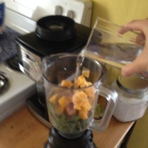 Baby Green Smoothie 1,2,3 and your done!